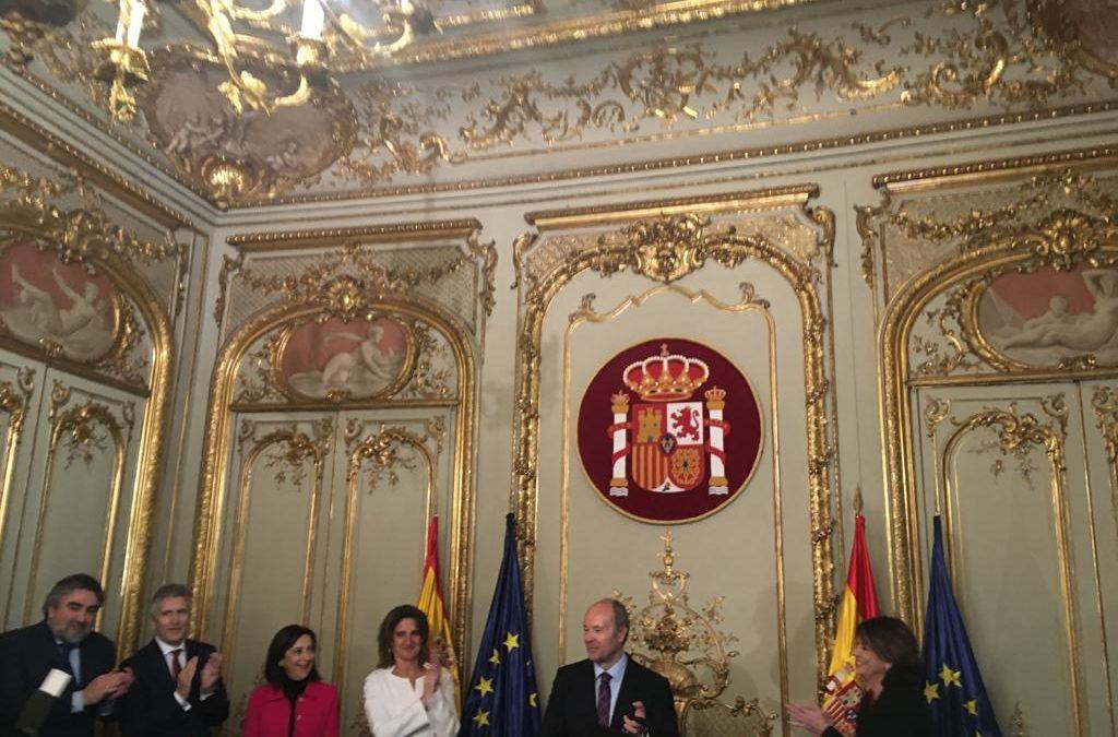 El SISEJ presente en la toma de posesión del Ministro de Justicia Juan Carlos Campo